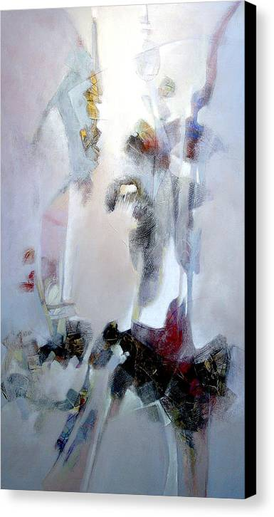 Abstract Canvas Print featuring the painting Dignity by Dale Witherow