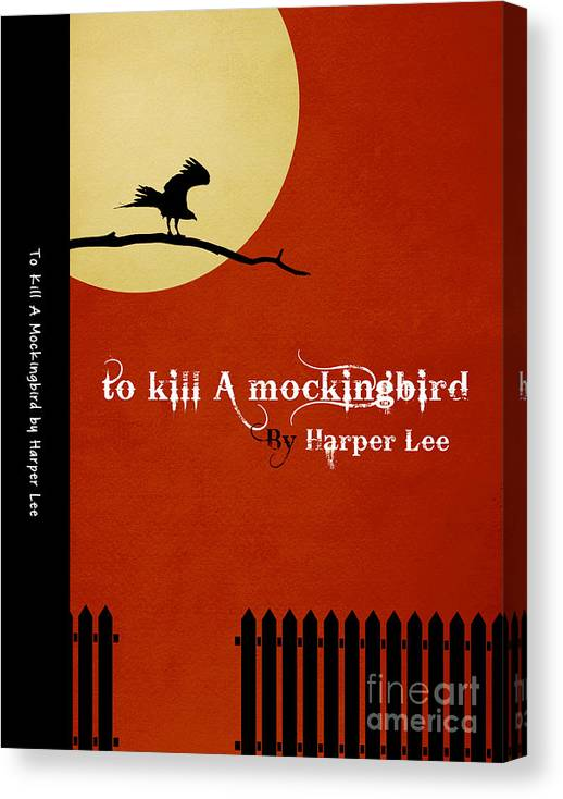 To Kill a MockingBird Book Cover Movie Poster Art 1 by Nishanth Gopinathan