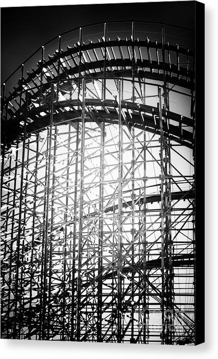 Coaster Light Canvas Print featuring the photograph Coaster Light by John Rizzuto