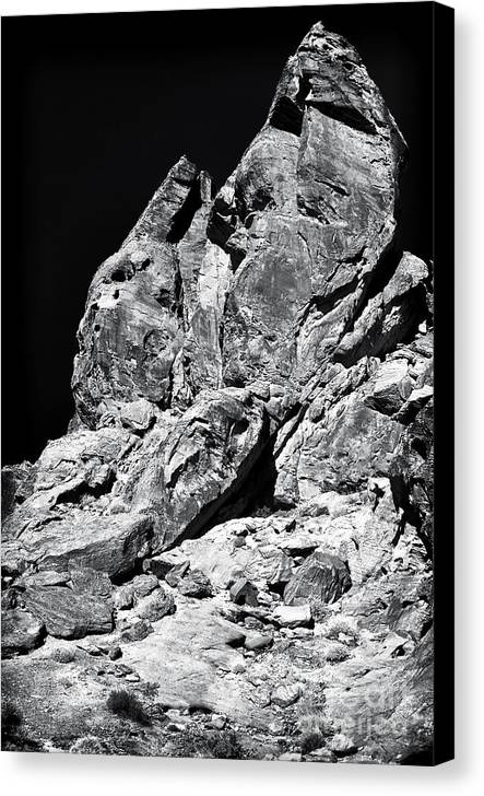 Hand In The Desert Canvas Print featuring the photograph Hand In The Desert by John Rizzuto