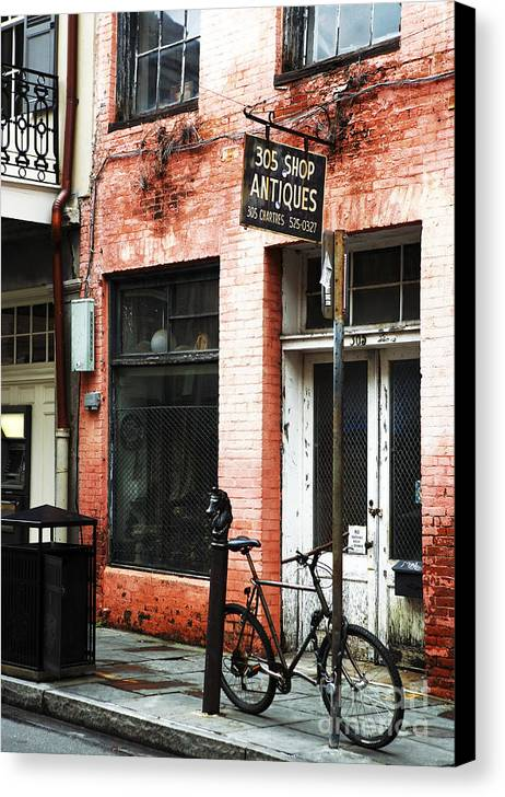305 Shop Canvas Print featuring the photograph 305 Shop by John Rizzuto
