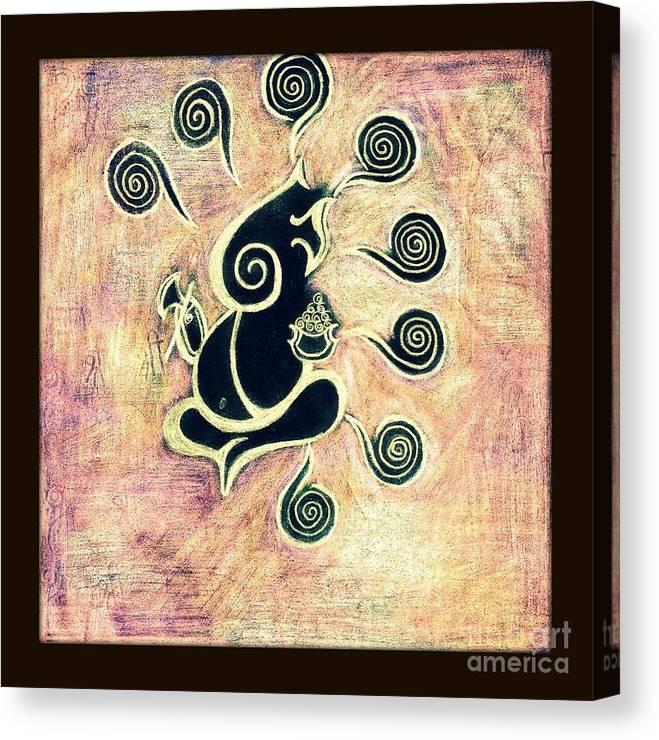 Ashtavinayaka Painting Canvas Print