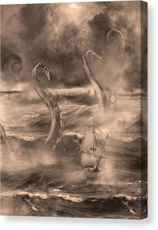 The Kraken Unleashed by Renato Nogueira Saltori