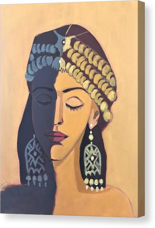 Face from Assyria  by Paul Batou