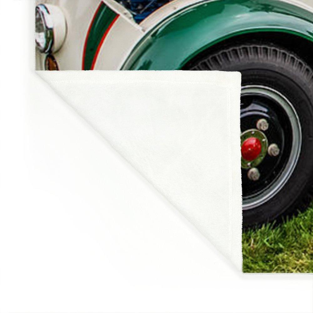 1965 Divco Milk Truck Fleece Blanket