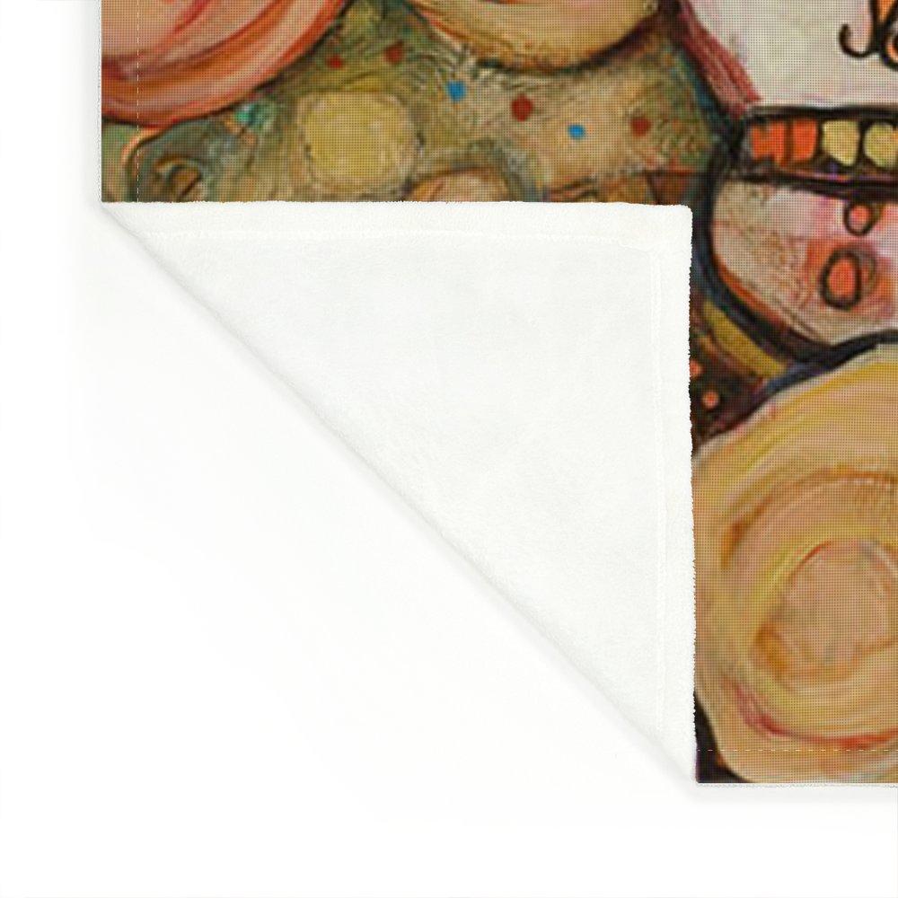 Calaveras Azucar Y Pan Dulce Fleece Blanket for Sale by Jen Norton 15f79c8bd0682