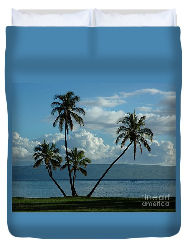 Hawaii Duvet Cover featuring the photograph A Little Bit Of Paradise by Vivian Christopher
