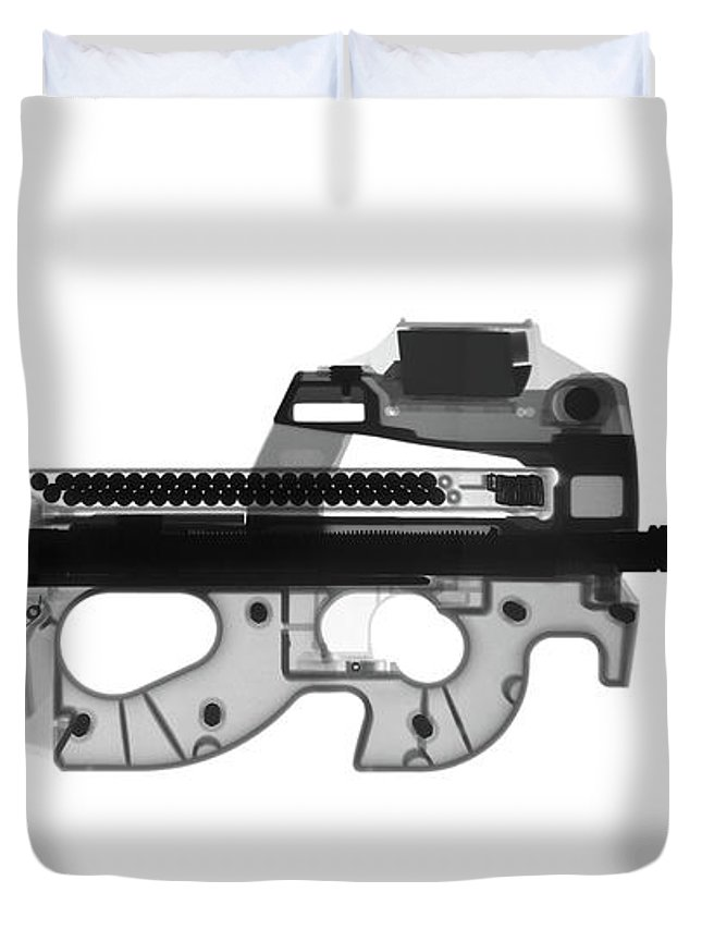 Ps90 For Sale >> Fn Ps90 X Ray Photograph Duvet Cover
