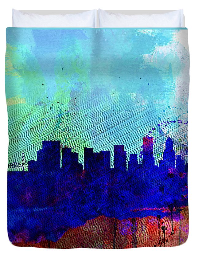 Portland Skyline Duvet Covers