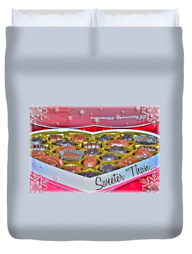 Valentine Duvet Cover featuring the photograph 0001 Valentine Series by Michael Frank Jr