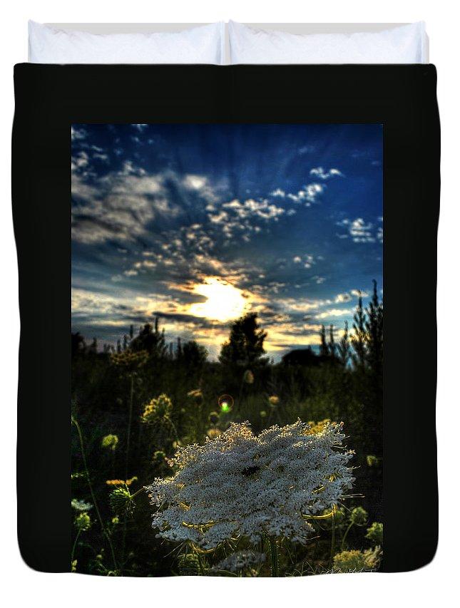 Deyowenoguhdoh Duvet Cover featuring the photograph 001 Life Is Beautiful by Michael Frank Jr