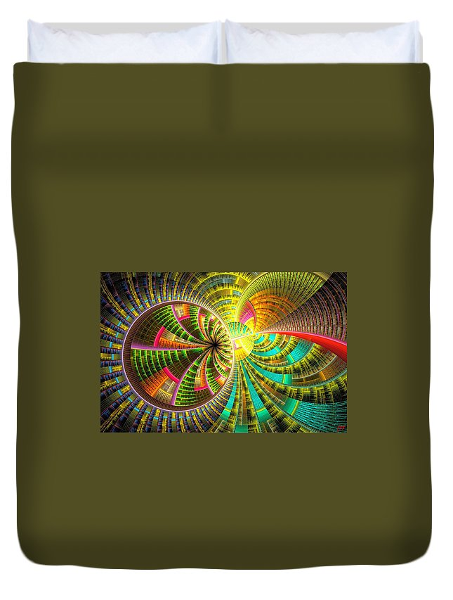 Still Life Duvet Cover featuring the painting 0065 by I J T Son Of Jesus