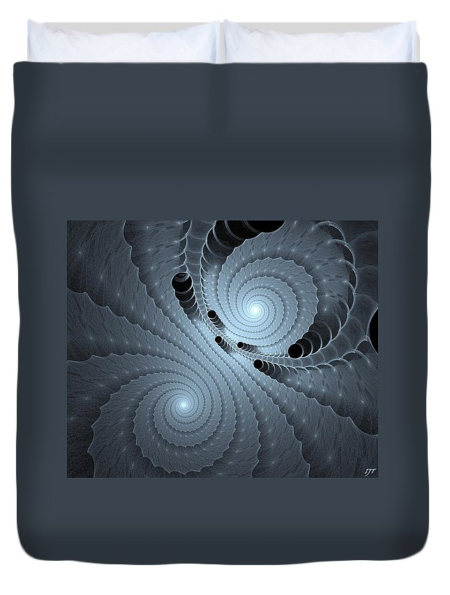 Still Life Duvet Cover featuring the painting 0083 by I J T Son Of Jesus