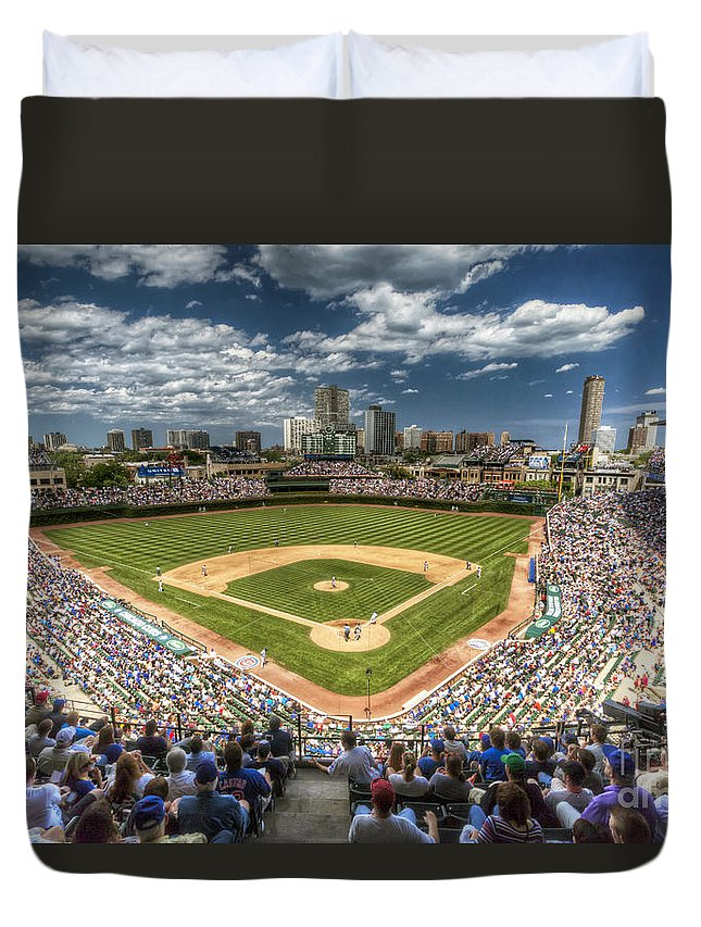 Wrigley Field Duvet Covers
