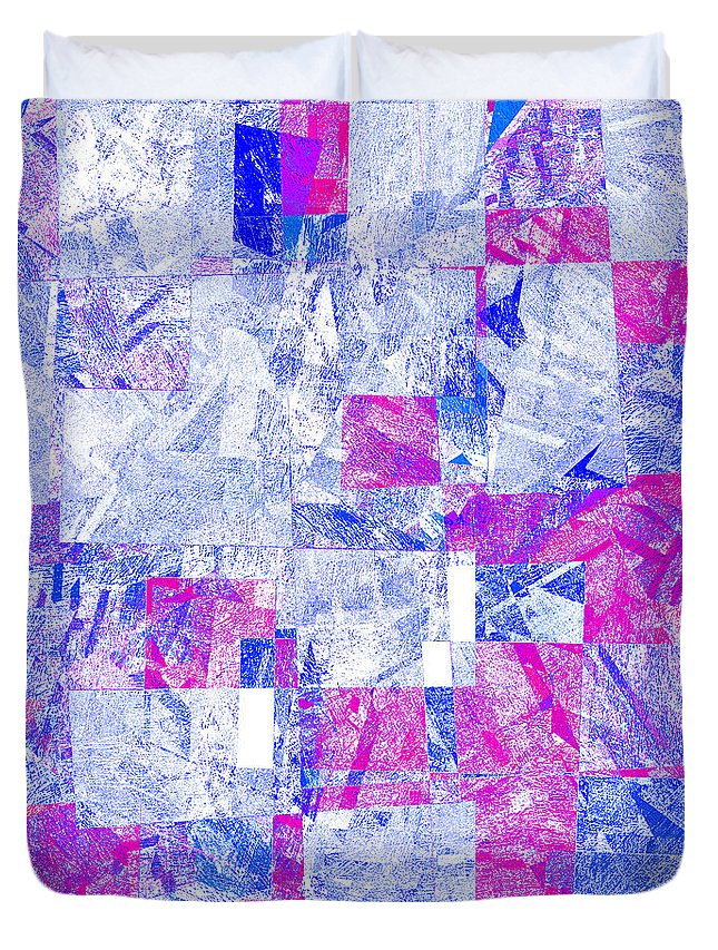 Abstract Duvet Cover featuring the digital art 0318 Abstract Thought by Chowdary V Arikatla