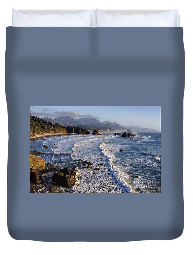 Indian Duvet Cover featuring the photograph 0319 Indian Beach by Steve Sturgill