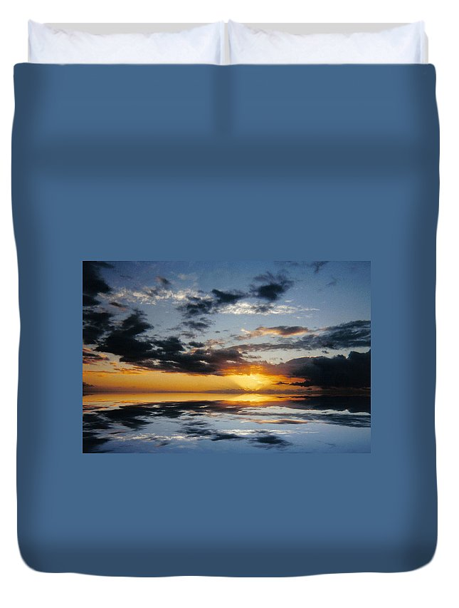 Original Duvet Cover featuring the photograph Abstract 129 by J D Owen