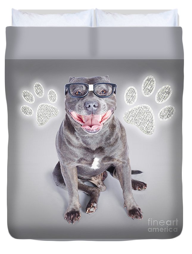 Cute Duvet Cover featuring the photograph Access To Smart Dog Training by Jorgo Photography - Wall Art Gallery
