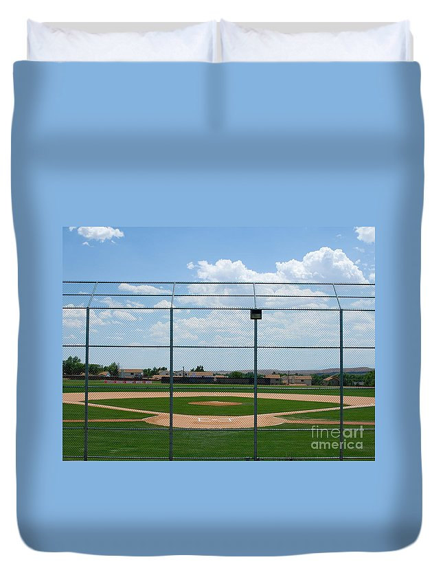 Colorado Duvet Cover featuring the photograph America's Game by Lee Roth