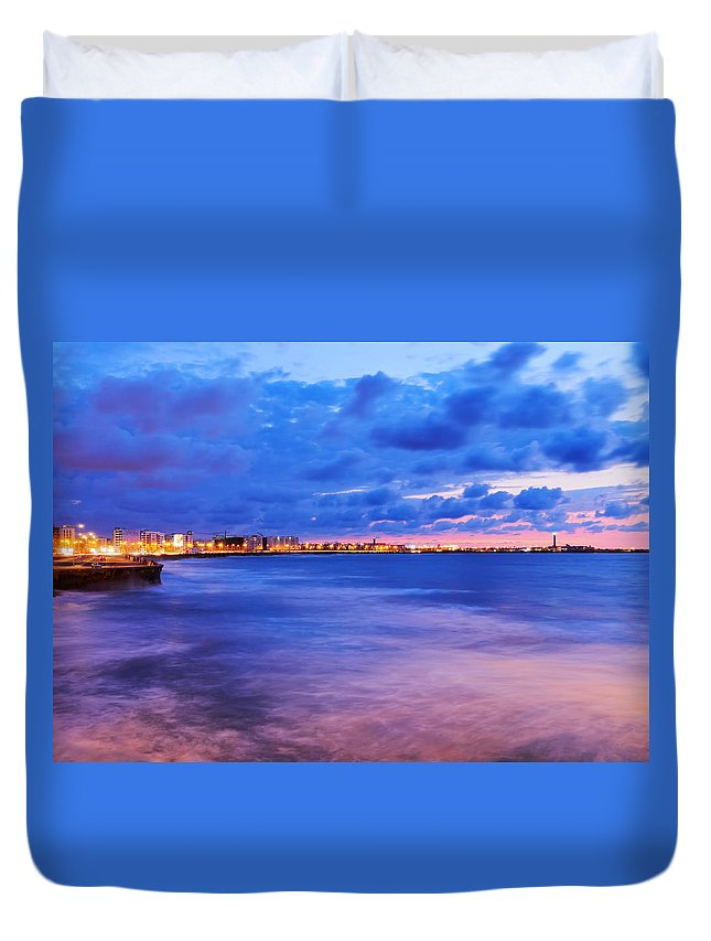 Africa Duvet Cover featuring the photograph Casablanca by Karol Kozlowski