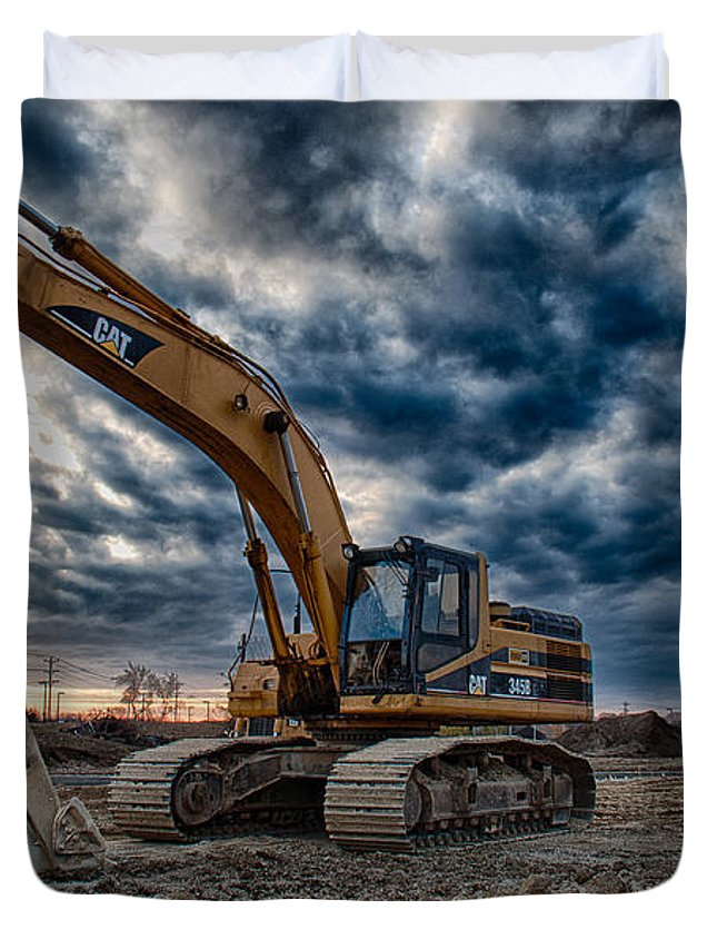 Excavator Duvet Covers