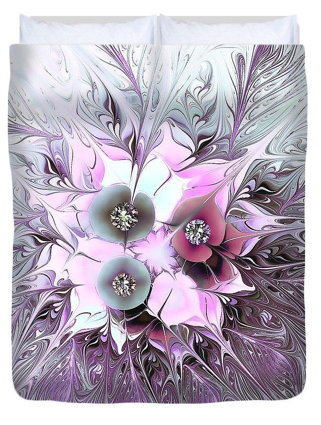 Celebration Duvet Cover featuring the digital art Celebration by Klara Acel