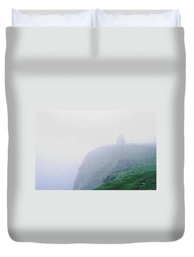 Ireland Duvet Cover featuring the photograph Cliffs Of Moher by David Lange