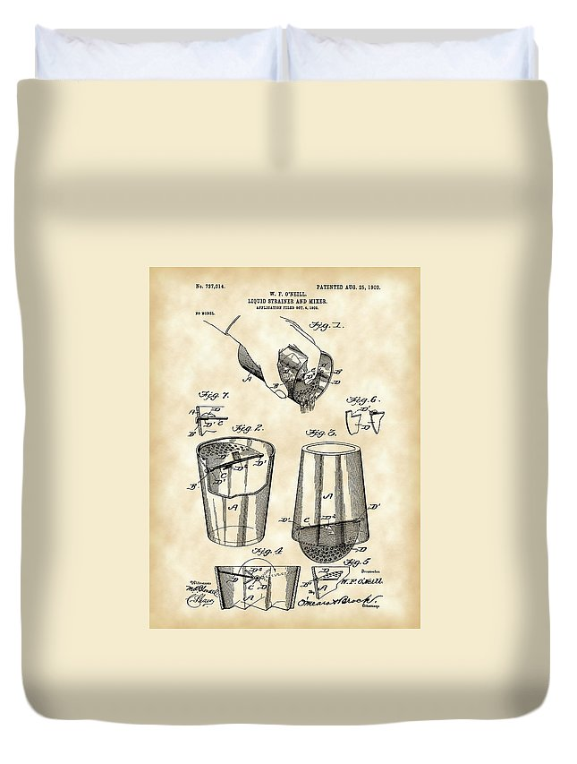 Drink Mixer Duvet Covers