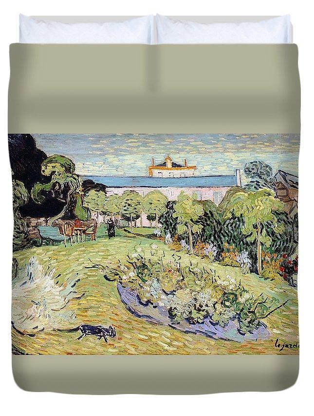 Art Duvet Cover featuring the painting Daubigny's Garden by Vincent van Gogh