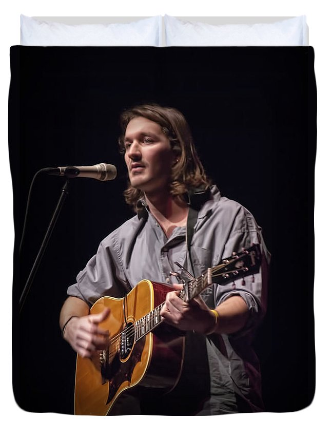 Art Duvet Cover featuring the photograph Folk Singer Griffen House by Randall Nyhof