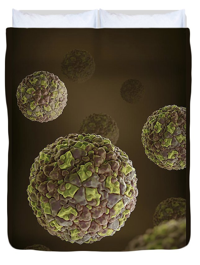 Aphthovirus Duvet Covers