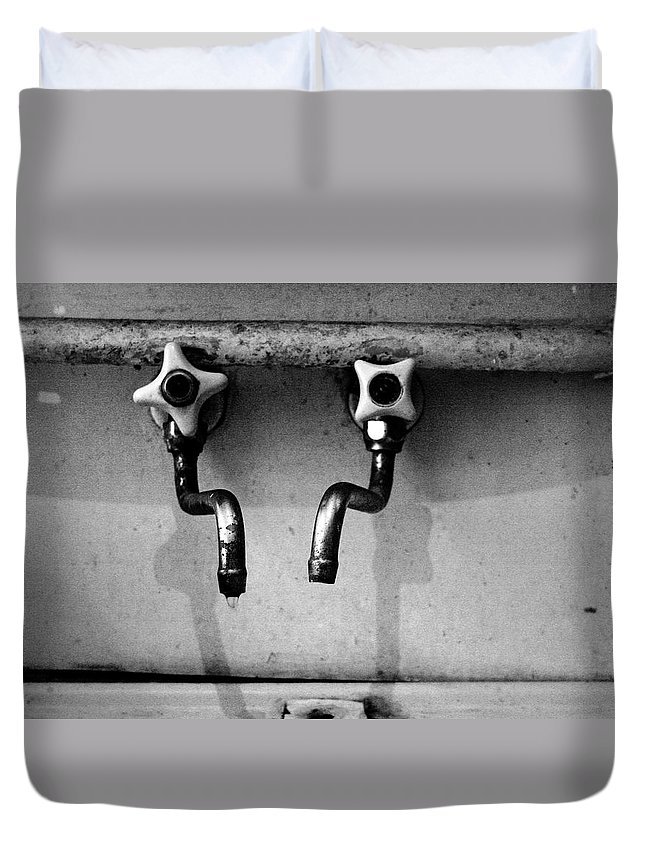 Home Duvet Cover featuring the photograph Home In Detail by Ivanna Laka