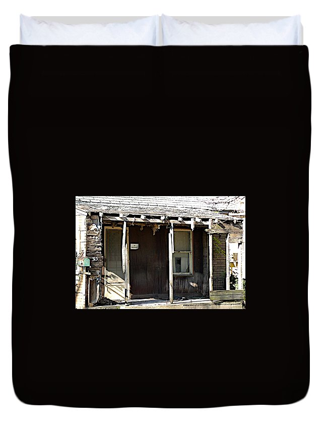 Decay Duvet Cover featuring the photograph Home by Joseph Yarbrough