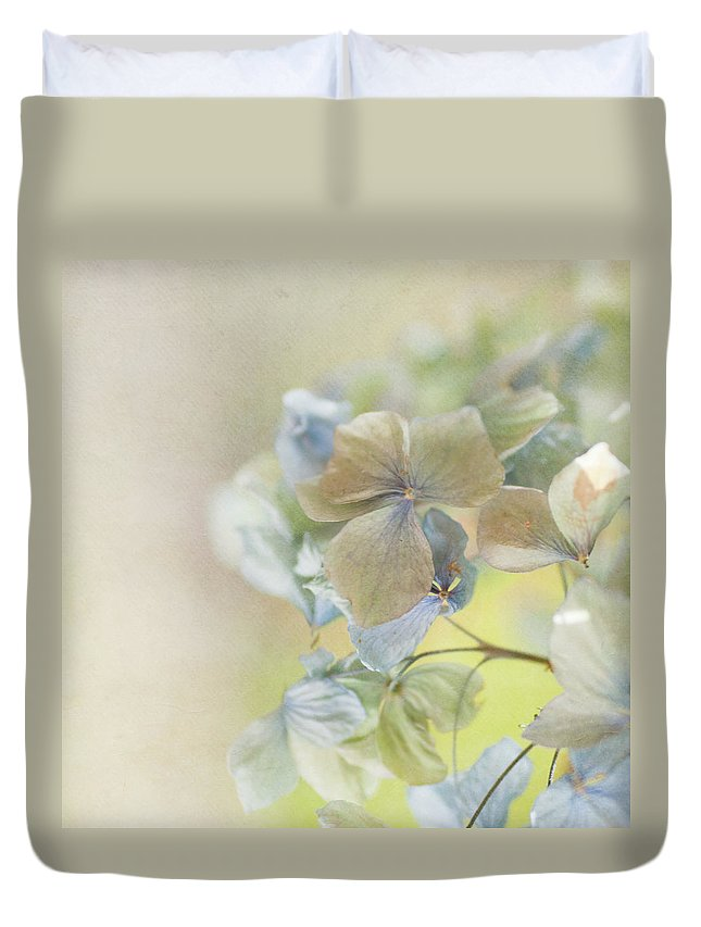 Hydrangea Duvet Cover featuring the photograph Hydrangea by Jill Ferry