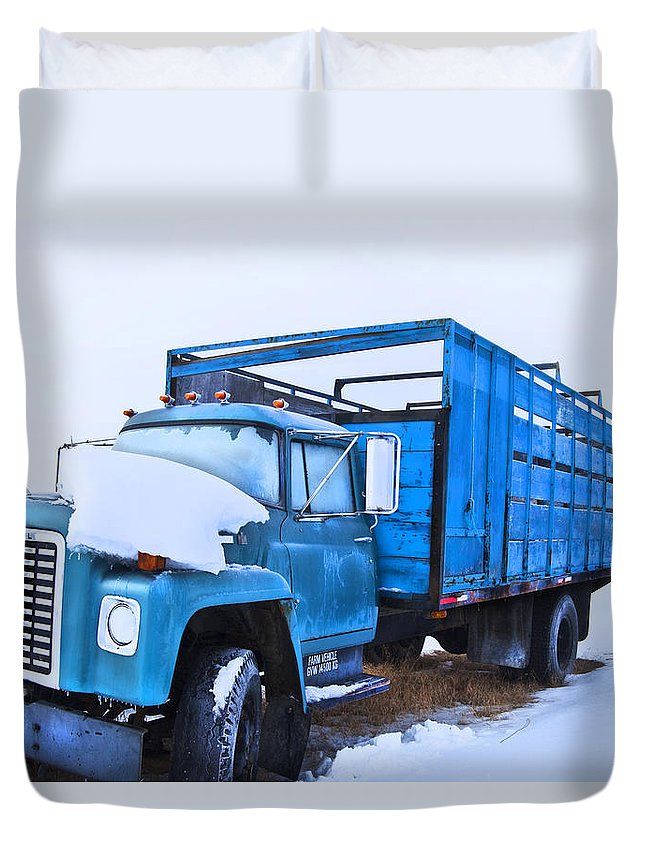 Farmer Duvet Cover featuring the photograph International by Theresa Tahara