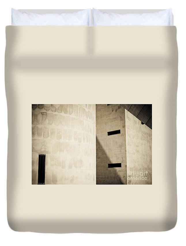 Exteriors Duvet Cover featuring the photograph Liverpool Catholic Cathedral - The Metropolitan Cathedral Of Chr by Paul Adams