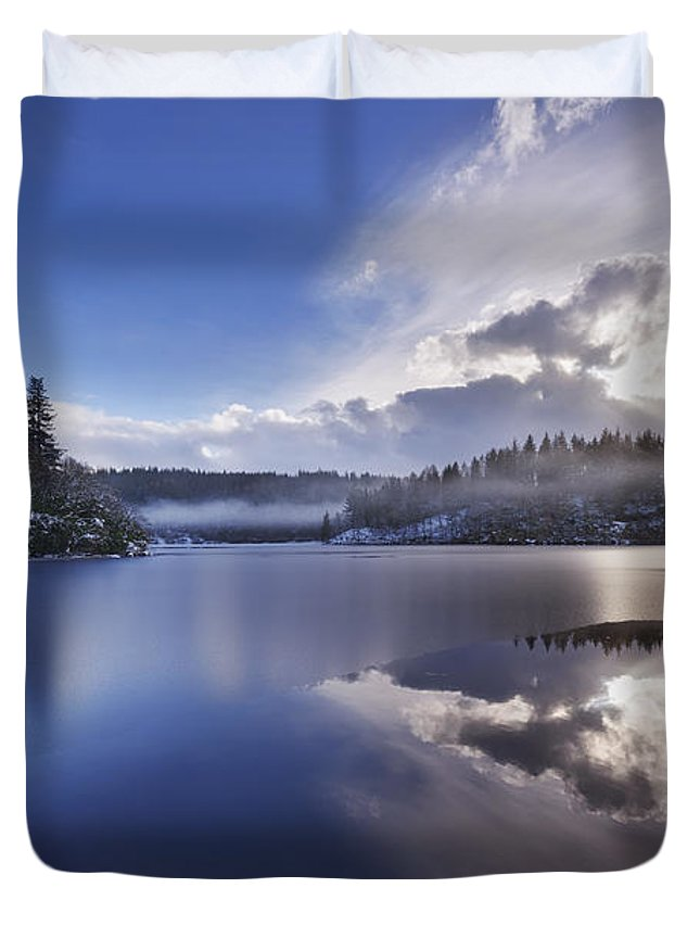 Loch Ard Duvet Cover featuring the photograph Loch Ard by Rod McLean