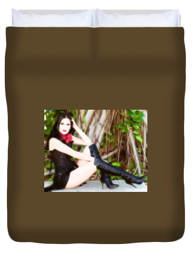 Mistress Duvet Cover featuring the photograph Mistress by Bill Howard