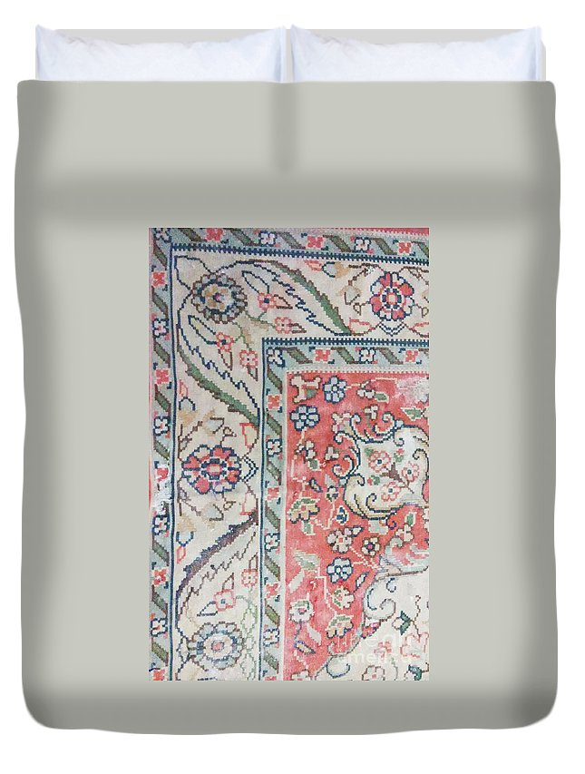 Persian Motifs Photos Duvet Cover featuring the photograph Photos Of Persian Rugs Kilims Carpets by Persian Art