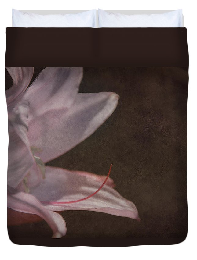 Reaching Duvet Cover featuring the photograph Reaching Out by Judy Hall-Folde