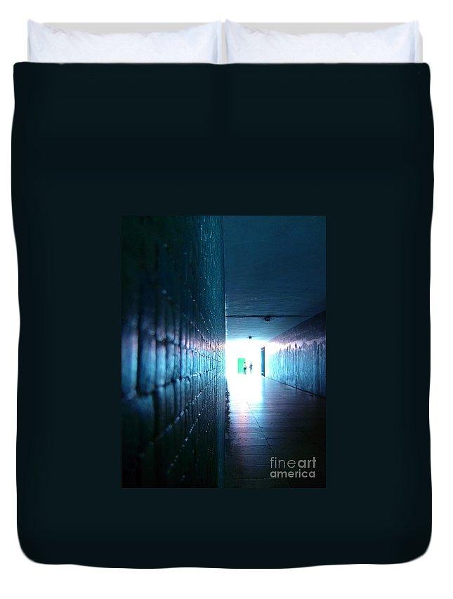 Light Duvet Cover featuring the photograph Rebirth by Jose Elias - Sofia Pereira