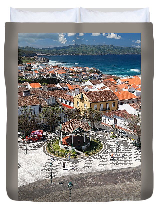Azores Duvet Cover featuring the photograph Ribeira Grande - Azores by Gaspar Avila