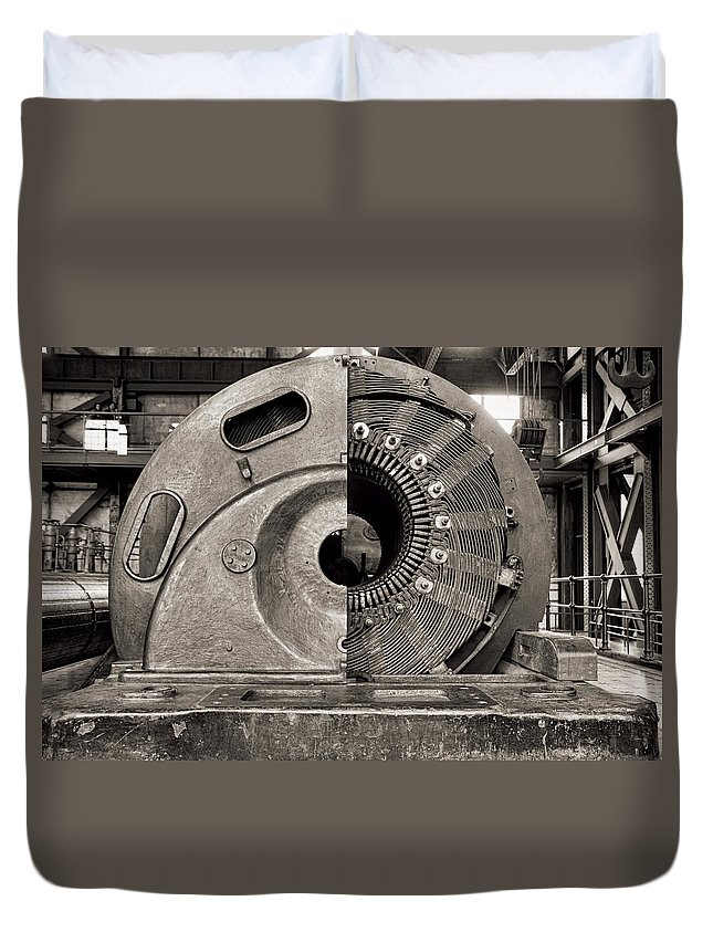 Santralİstanbul Duvet Cover featuring the photograph Santrallstanbul Power Plant In Istanbul by For Ninety One Days