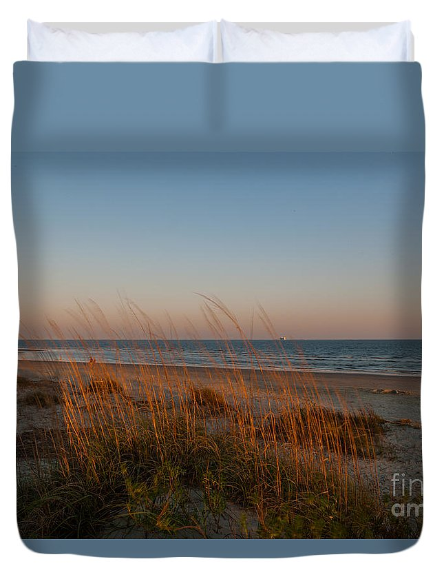 Sea Breeze Duvet Cover featuring the photograph Sea Breeze by Dale Powell