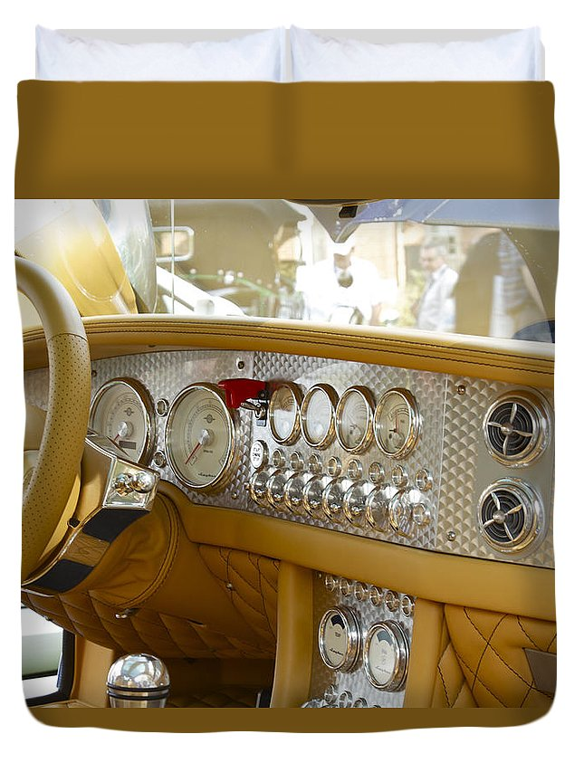 Antique Duvet Cover featuring the photograph Spyker by Jack R Perry