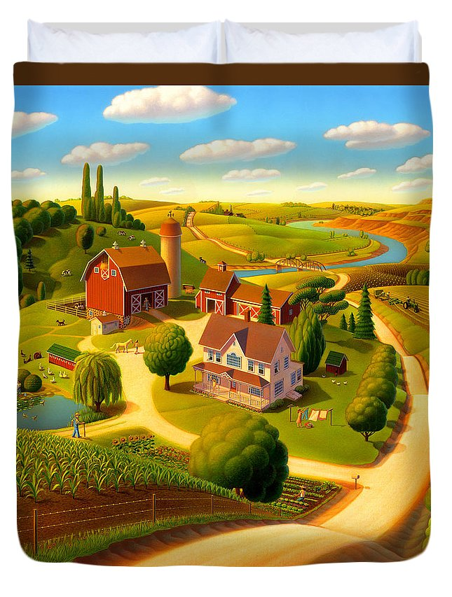 Rural Scene Duvet Covers