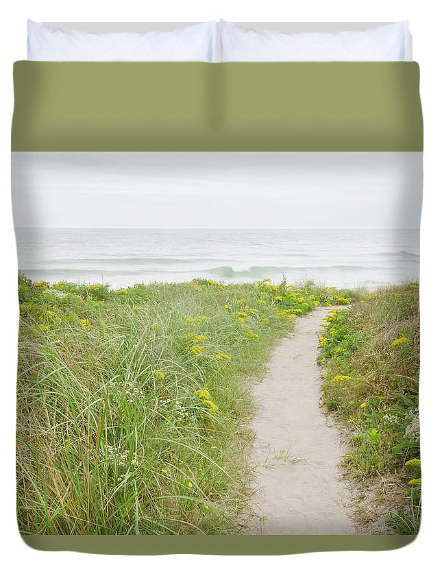 Tranquility Duvet Cover featuring the photograph Usa, Massachusetts, Nantucket Island by Chuck Plante