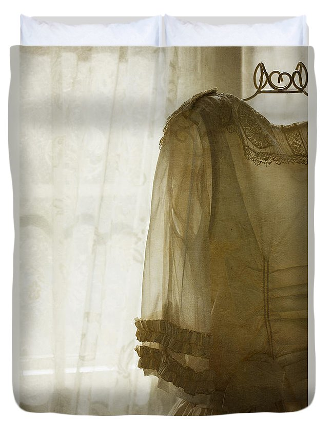 Antique Duvet Cover featuring the photograph Wardrobe by Margie Hurwich