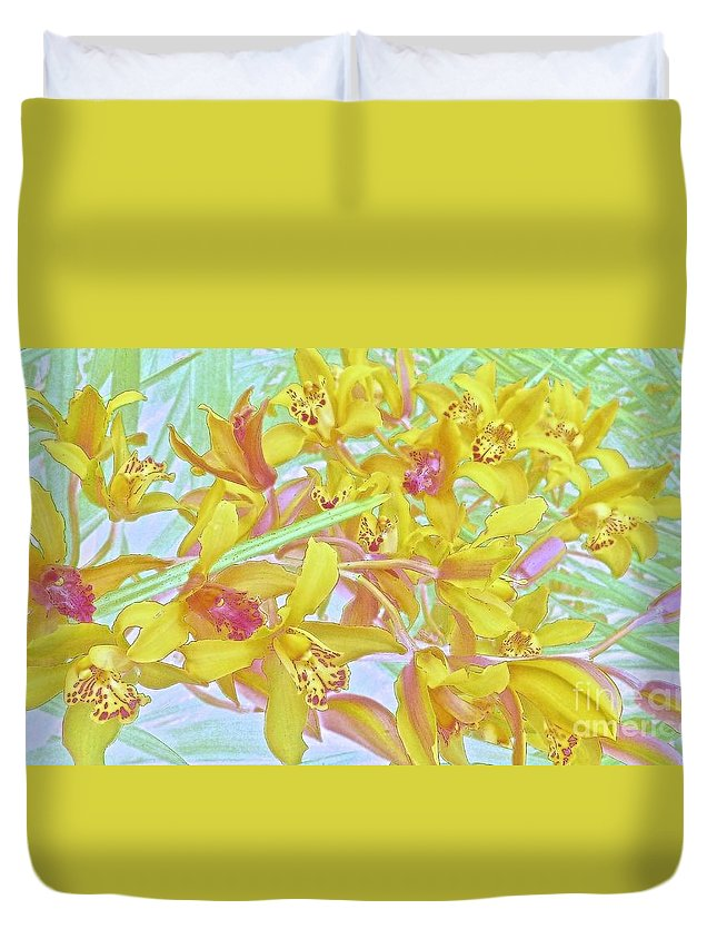 Maui Duvet Cover featuring the photograph Giggling Watercolor Photography by Cheryl Cutler
