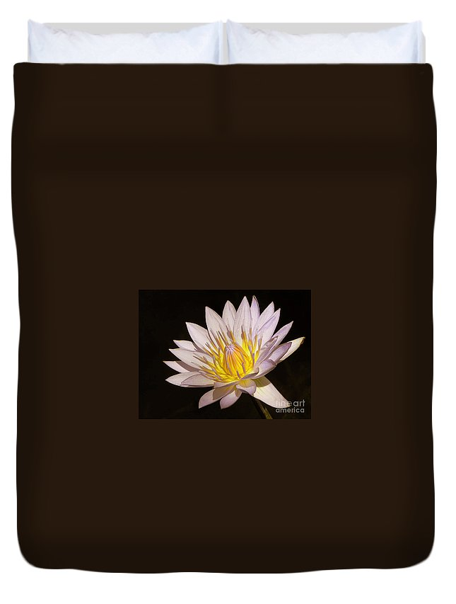 Waterlily Duvet Cover featuring the photograph Water Lily by Irina Davis
